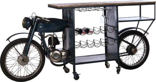 vintage motor bar tafel mancave spullen
